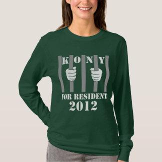 T-shirt Prison de Joseph Kony d'arrêt de Kony 2012