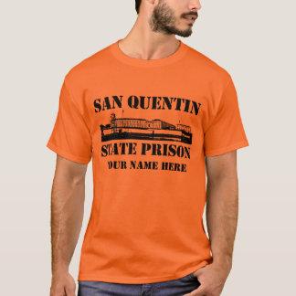 T-shirt Prison d'État de San Quentin (personnalisée)