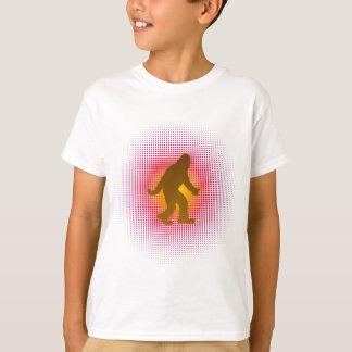 T-shirt Prisonnier de guerre de lutin de vecteur de trame