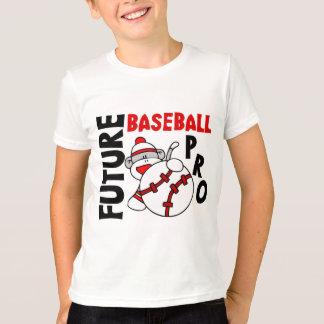 T-shirt Pro singe de chaussette de futur base-ball