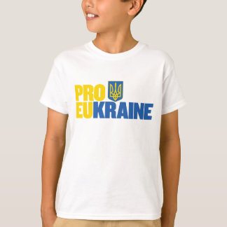 T-shirt Pro UE pro Ukraine