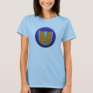 T-shirt Problème de jeune fille de héros