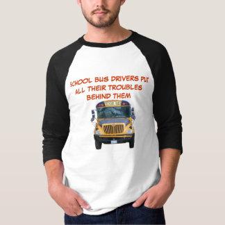 T-shirt Problèmes de chauffeur d'autobus scolaire