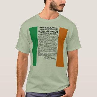 T-shirt Proclamation en hausse de Pâques de la République