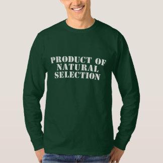T-shirt Produit de sélection naturelle