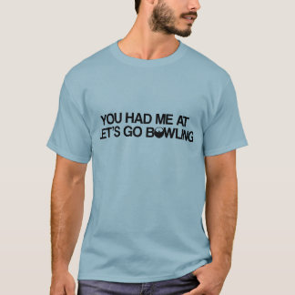 T-shirt Produits de bowling