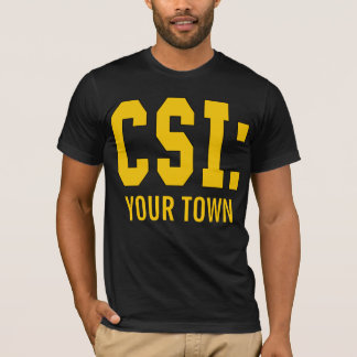 T-shirt Produits de CUSTOMIZEABLE CSI