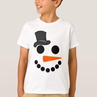 T-shirt Produits de garçon de bonhomme de neige