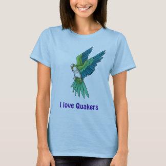 T-shirt Produits de perroquet de quaker