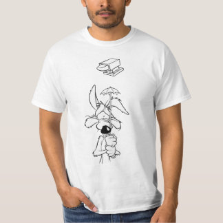 T-shirt Produits de point culminant de coyote du Wile E