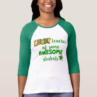 T-shirt Professeur chanceux