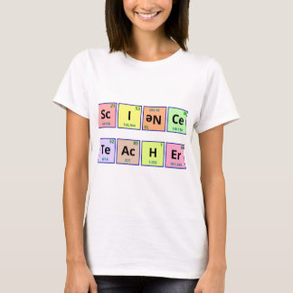 T-shirt Professeur de Sciences