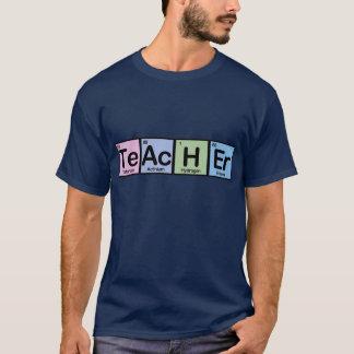 T-shirt Professeur fait d'éléments