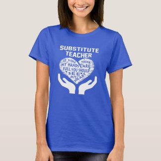 T-shirt Professeur remplaçant