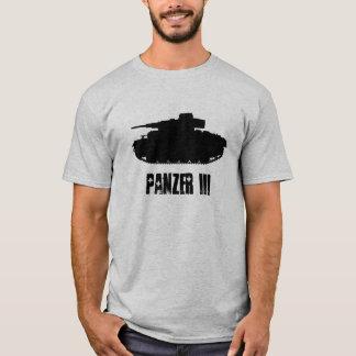T-shirt Profil de réservoir de Panzer III, pièce en t de