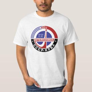 T-shirt Programme spatial de Soviétique d'INTERKOSMOS
