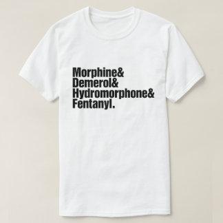 T-shirt Progression de douleur - anesthésie