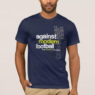 T-shirt Projecteurs de vieille école d'amour (bleus/gris)