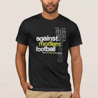 T-shirt Projecteurs de vieille école d'amour (noir/gris)