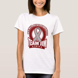 T-shirt Promenade 2010 de cancer du cerveau de JIM