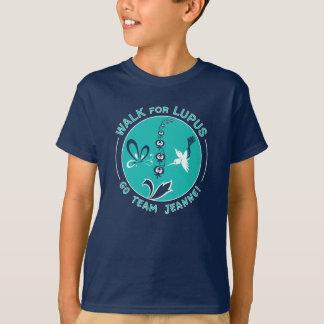 """T-shirt Promenade de lupus de """"Jeanne de l'équipe"""" du Milo"""