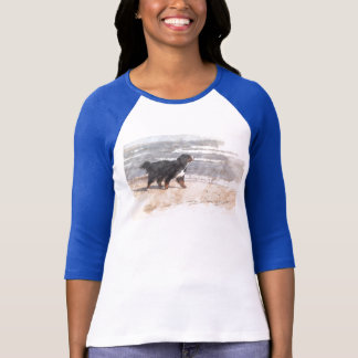 T-shirt Promenade sur la plage