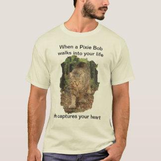 T-shirt Promenades de chat de Bob de lutin dans votre