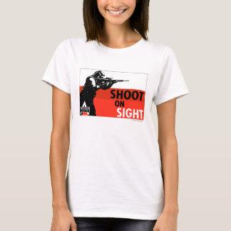 T-shirt Propagande à C.A. - pousse sur la vue
