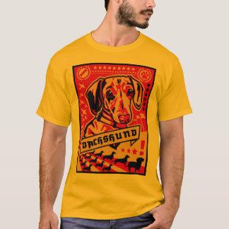 T-shirt Propagande de teckel