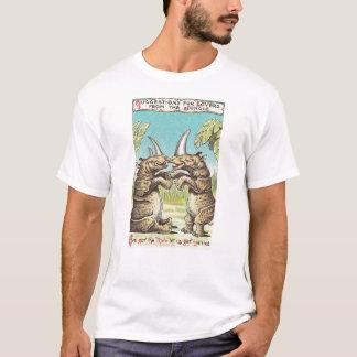 T-shirt Proposition de rhinocéros de mariage