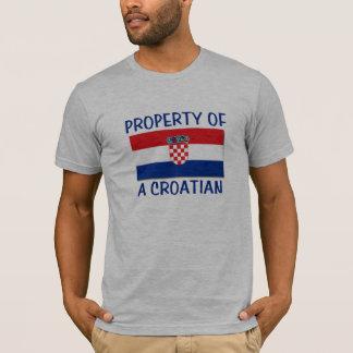 T-shirt Propriété croate
