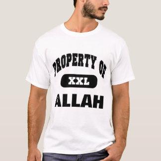 T-shirt Propriété d'ALLAH