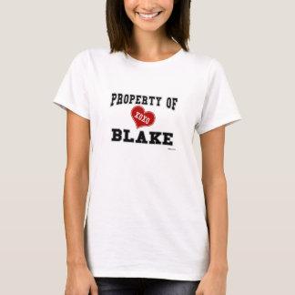 T-shirt Propriété de Blake