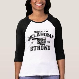 T-shirt Propriété de chemise forte de l'Oklahoma