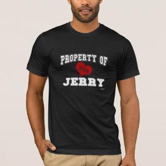 T-shirt Propriété de Jerry