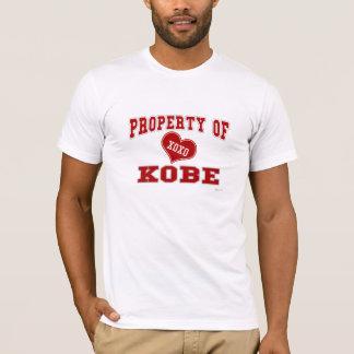 T-shirt Propriété de Kobe