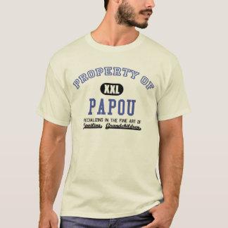 T-shirt Propriété de Papou