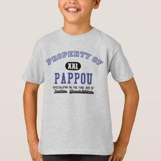 T-shirt Propriété de Pappou
