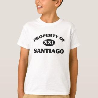 T-shirt Propriété de SANTIAGO
