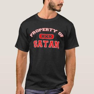T-shirt Propriété de Satan