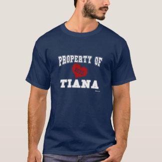 T-shirt Propriété de Tiana