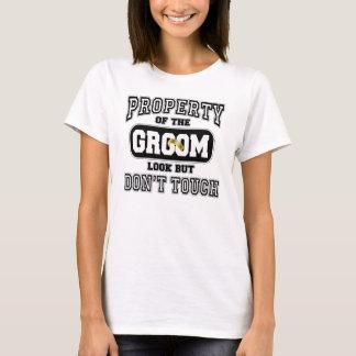 T-shirt Propriété du marié