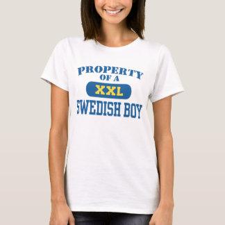 T-shirt Propriété d'un garçon suédois