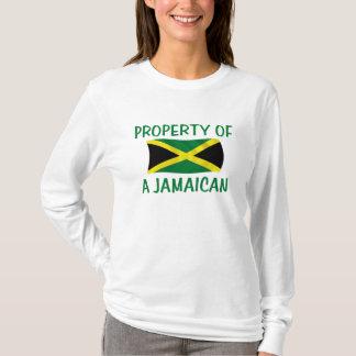 T-shirt Propriété d'un jamaïcain