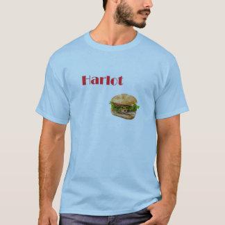 T-shirt prostituée de sandwich à dinde