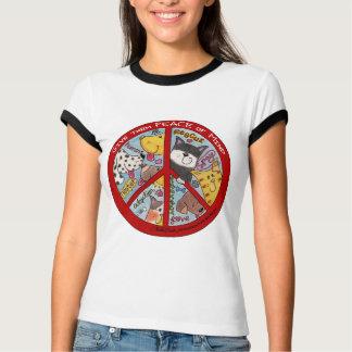 T-shirt Protection de Signe-Animal de paix