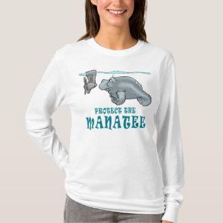 T-shirt Protégez le lamantin