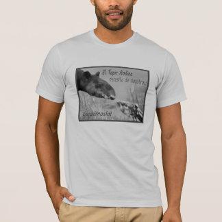 T-shirt Protégez le tapir andin !