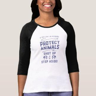 T-shirt Protégez les animaux