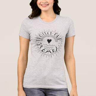 T-shirt Protégez notre chemise de planète